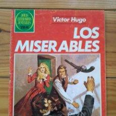 Tebeos: JOYAS LITERARIAS JUVENILES Nº 263 1ª EDICIÓN 1983 - LOS MISERABLES. Lote 195400338