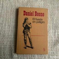 Tebeos: COLECCION HEROES SELECCION , DANIEL BOONE, EL FUERTE EN PELIGRO -ED. BRUGUERA. Lote 195414761