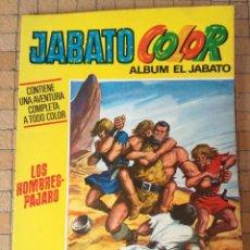 Tebeos: JABATO COLOR EXTRA. PRIMERA ÉPOCA Nº 42 ¡LOS HOMBRES PAJARO! TEBENI BRUGUERA 1973. Lote 195430011