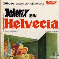 Tebeos: ASTERIX EN HELVECIA 1ª EDICION DE 1971 BRUGUERA. Lote 195430873