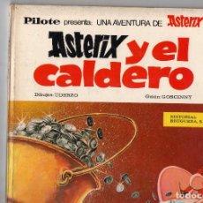 Tebeos: ASTERIX Y EL CALDERO 1ª EDICION 1970 DE BRUGUERA. Lote 195431273