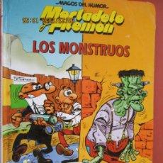 Tebeos: MORTADELO Y FILEMON , MAGOS DEL HUMOR / LOS MONSTRUOS /2000. Lote 195438477
