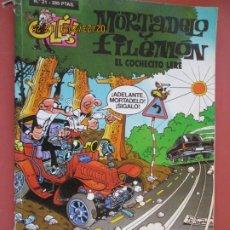 Tebeos: MORTADELO Y FILEMON , COLECCION OLE - Nº 21 EL COCHECITO LERE /1998. Lote 195438628