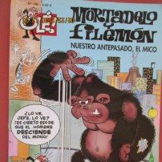 Tebeos: MORTADELO Y FILEMON , COLECCION OLE - Nº 186/ NUESTRO ANTEPASADO EL MICO /2010. Lote 195438686