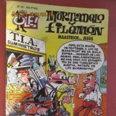 Tebeos: MORTADELO Y FILEMON , COLECCION OLE - Nº 50 MAASTRICH ........ JESUS 1ª EDC 1994 . Lote 195439115