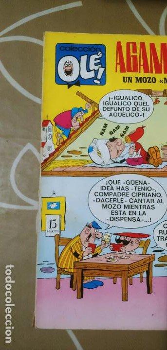 Tebeos: Colección Olé nº 13 1ª edición nº lomo Agamenón un mozo mu espabilao Nené Estivill Bruguera 1971 - Foto 2 - 195497003