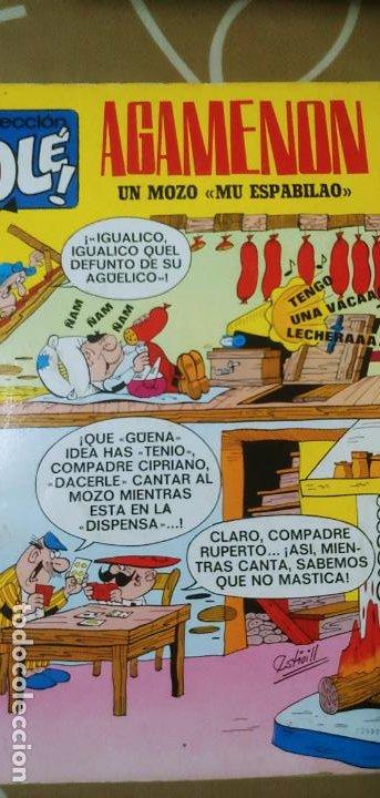 Tebeos: Colección Olé nº 13 1ª edición nº lomo Agamenón un mozo mu espabilao Nené Estivill Bruguera 1971 - Foto 3 - 195497003