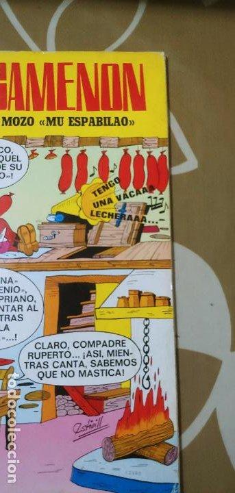 Tebeos: Colección Olé nº 13 1ª edición nº lomo Agamenón un mozo mu espabilao Nené Estivill Bruguera 1971 - Foto 4 - 195497003