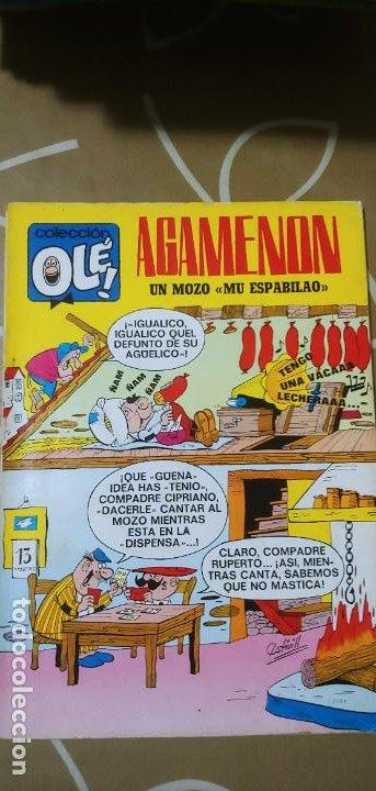 COLECCIÓN OLÉ Nº 13 1ª EDICIÓN Nº LOMO AGAMENÓN UN MOZO MU ESPABILAO NENÉ ESTIVILL BRUGUERA 1971 (Tebeos y Comics - Bruguera - Ole)