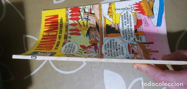 Tebeos: Colección Olé nº 13 1ª edición nº lomo Agamenón un mozo mu espabilao Nené Estivill Bruguera 1971 - Foto 5 - 195497003