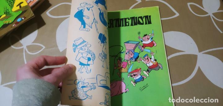 Tebeos: Colección Olé nº 13 1ª edición nº lomo Agamenón un mozo mu espabilao Nené Estivill Bruguera 1971 - Foto 7 - 195497003
