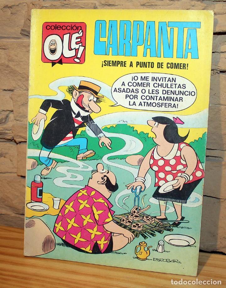 CARPANTA, SIEMPRE A PUNTO DE COMER - COLECCION OLE - 3º EDICION - AÑO 1979 (Tebeos y Comics - Bruguera - Ole)