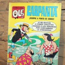 Tebeos: CARPANTA, SIEMPRE A PUNTO DE COMER - COLECCION OLE - 3º EDICION - AÑO 1979. Lote 195499275