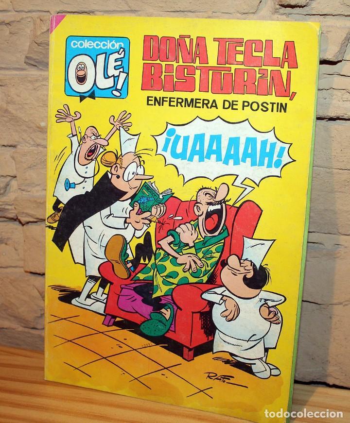 DOÑA TECLA BISTURIN - COLECCION OLE - 5º EDICION - AÑO 1985 (Tebeos y Comics - Bruguera - Ole)