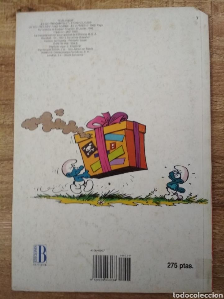 Tebeos: 3 comics de los Pitufos. - Foto 3 - 195500956