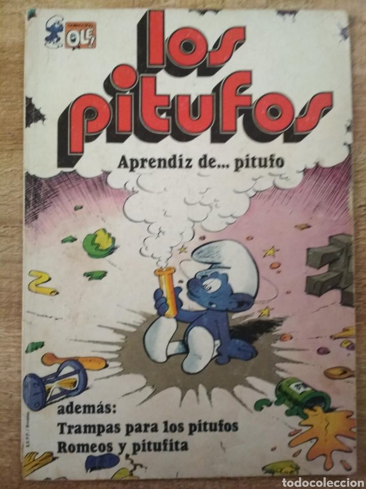 Tebeos: 3 comics de los Pitufos. - Foto 4 - 195500956