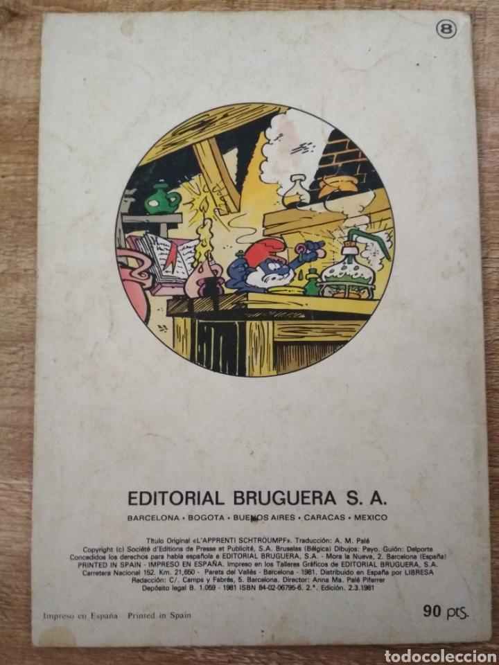 Tebeos: 3 comics de los Pitufos. - Foto 5 - 195500956
