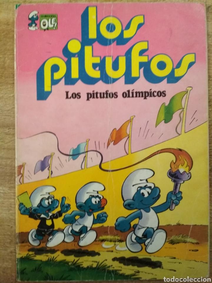 Tebeos: 3 comics de los Pitufos. - Foto 6 - 195500956