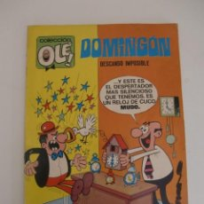 Tebeos: DOMINGON DESCANSO IMPOSIBLE / OLE N 2O EDITORIAL BRUGUERA 1971. Lote 195505746