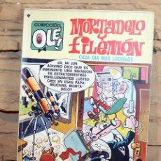 Tebeos: MORTADELO Y FILEMON, CADA DIA MÁS LOCUELOS - 1º EDICION - 28/11/1977. Lote 195532813