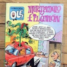 Tebeos: MORTADELO Y FILEMON, LA BANDA DE MATUSALEN - 1º EDICION - JULIO 1988. Lote 195532876