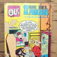 Tebeos: 13 RUE DEL PERCEBE, LA CASA DE LOS MIL CHISTES - COLECCION OLE - 4º EDICION - 14/04/1980. Lote 195533161