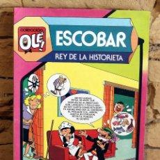 Tebeos: ESCOBAR, REY DE LA HISTORIETA - OLE - 1º EDICIÓN - FEBRERO 1985. Lote 195533273