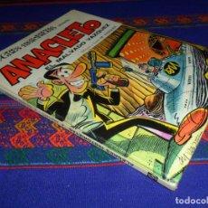 Tebeos: ALEGRES HISTORIETAS Nº 9 ANACLETO EL MALVADO VÁZQUEZ. BRUGUERA 1971. TAPAS DURAS. . Lote 195534982