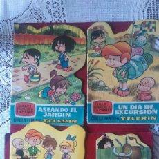 Tebeos: AB-916.- LOTE DE - 4 - CUENTOS - HALE VAMOS A LA CAMA DE LA FAMILIA TELERIN , VER FOTOS Y NUMEROS . Lote 195537812