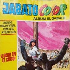 Tebeos: JABATO COLOR (ALBUM EL JABATO), Nº 34: ¡LUCHA EN EL CIRCO! - BRUGUERA 1972. Lote 195547422
