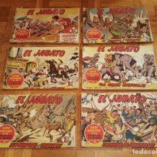 Tebeos: EL JABATO COLECCIÓN COMPLETA ORIGINAL DE 381 EJEMPLARES. EDITORIAL BRUGERA 1958. Lote 195604167