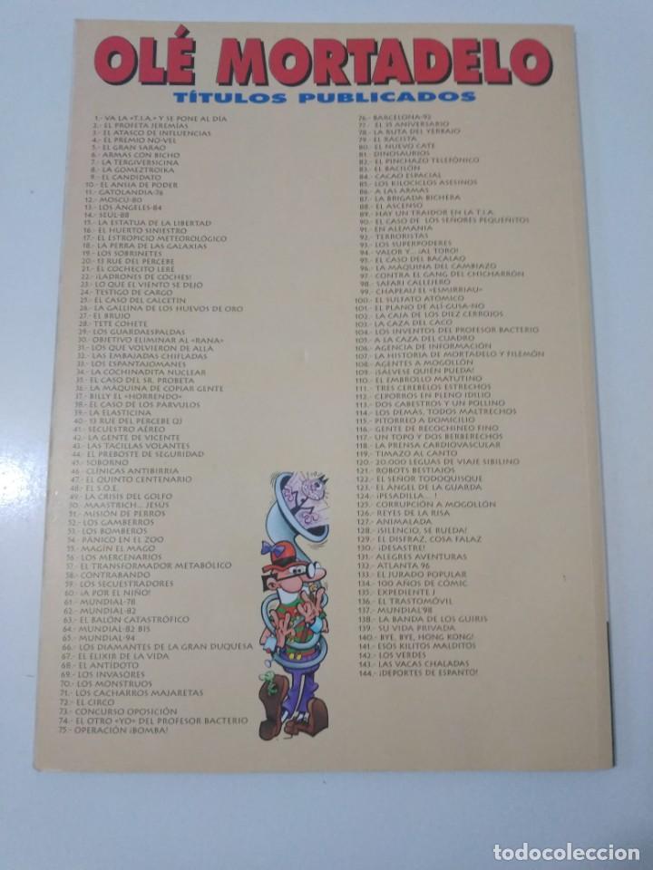 Tebeos: Mortadelo y Filemón número 35 colección Olé 1999 3 Edición Ediciones B - Foto 2 - 195649000