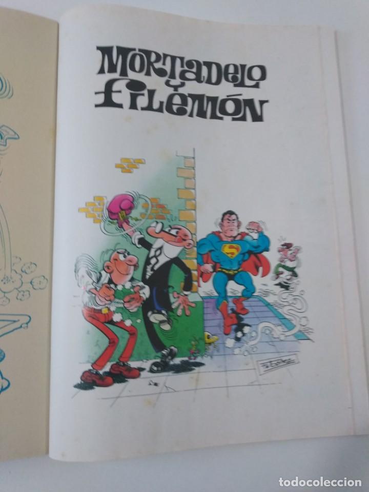 Tebeos: Mortadelo y Filemón número 35 colección Olé 1999 3 Edición Ediciones B - Foto 6 - 195649000