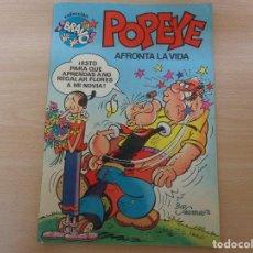 Tebeos: COLECCIÓN BRAVO. POPEYE Nº 2. EDITA BRUGUERA 1982. Lote 195662752