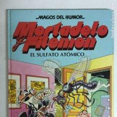 Livros de Banda Desenhada: MAGOS DEL HUMOR - MORTADELO Y FILEMÓN - EL SULFATO ATÓMICO - NÚMERO 1. Lote 195676016