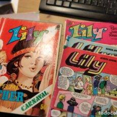 Tebeos: LOTE DE 3 SUPER LILY, Y 3 LILY. Lote 195700296