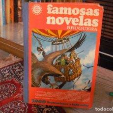 Tebeos: FAMOSAS NOVELAS EDITORIAL BRUGUERA LOMO ENTELADO AÑOS 70. Lote 195756886