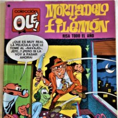 Tebeos: COLECCIÓN OLÉ! - MORTADELO Y FILEMON Nº 93 - EDITORIAL BRUGUERA - TAPA BLANDA. Lote 195812982