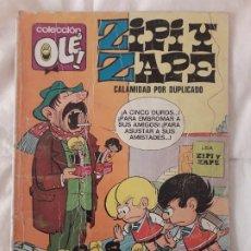 Tebeos: COMIC 'OLÉ' ZIPI Y ZAPE Nº 67 SEGUNDA EDICIÓN CON NÚMERO EN EL LOMO DE EDITORIAL BRUGUERA. Lote 195849776