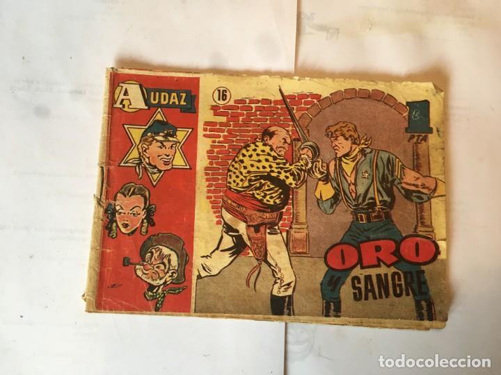 COMIC AUDAZ Nº 16 EDICIONES HISPANO AMERICANA, (Tebeos y Comics - Bruguera - Cuadernillos Varios)