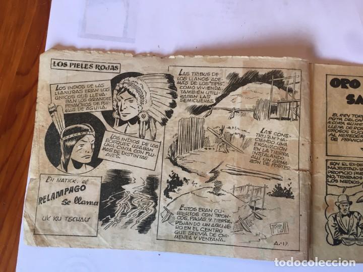 Tebeos: comic AUDAZ nº 16 ediciones hispano americana, - Foto 2 - 195865386