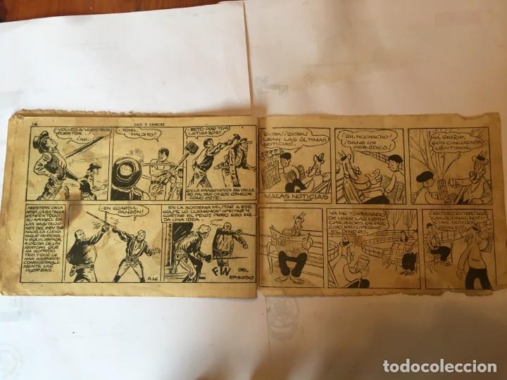 Tebeos: comic AUDAZ nº 16 ediciones hispano americana, - Foto 4 - 195865386