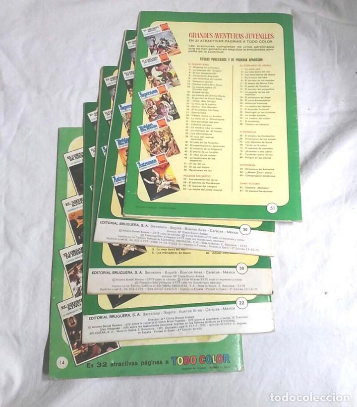 Tebeos: Lote 4 cómics El Sheriff King año 72, Grandes Aventuras Juveniles. nº 14, 22, 30 y 51 - Foto 2 - 195867746