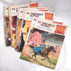 Tebeos: LOTE 10 EL SHERIFF KING, GRANDES AVENTURAS JUVENILES AÑO 72, LISTA PUBLICADA. Lote 195909563