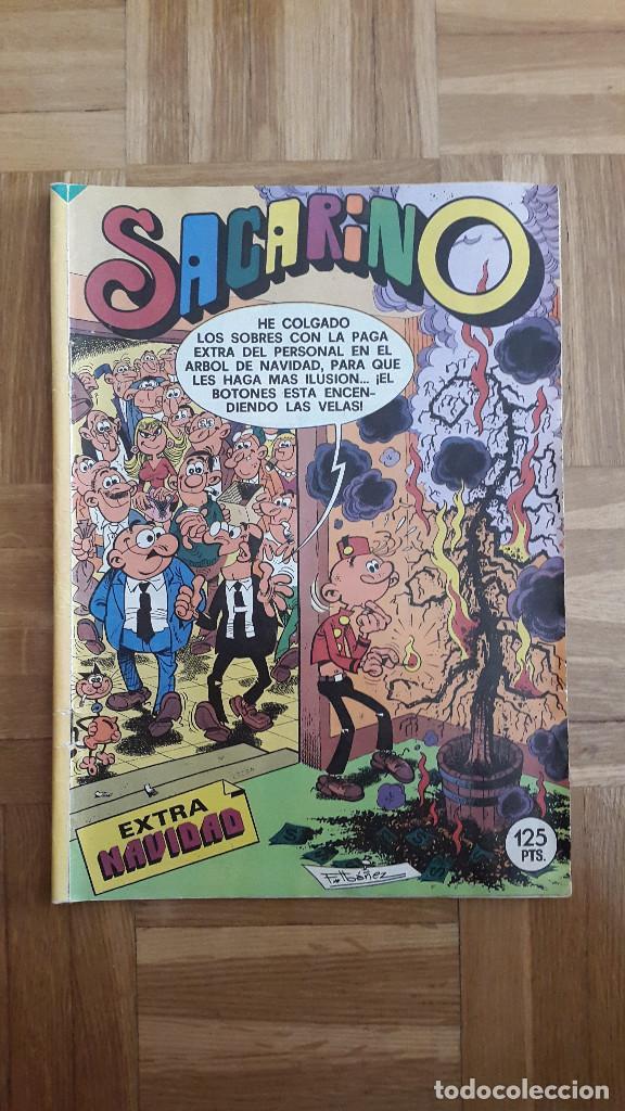 SACARINO EXTRA NAVIDAD 1984 JANTORREGROSA SERNA RAF SCHMIDT. LEER (Tebeos y Comics - Bruguera - Otros)