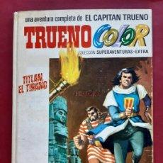 Tebeos: EL CAPITAN TRUENO COLOR ALBUM BLANCO Nº 7. Lote 196099095