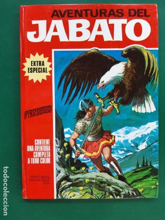 AVENTURAS DEL JABATO Nº 3 TOMO ROJO (Tebeos y Comics - Bruguera - Jabato)