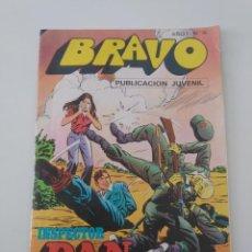 Tebeos: INSPECTOR DAN NÚMERO 16 COLECCIÓN BRAVO 1976 EDITORIAL BRUGUERA. Lote 196186480