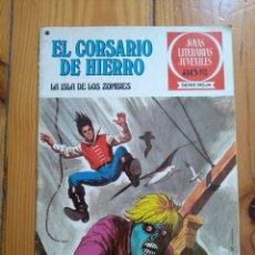 Tebeos: EL CORSARIO DE HIERRO Nº 35 - LA ISLA DE LOS ZOMBIES - MUY BUEN ESTADO - D5. Lote 196188078