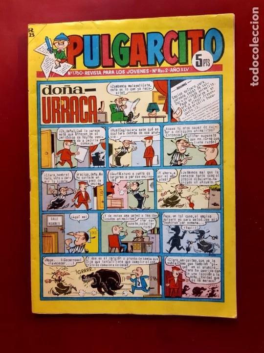 PULGARCITO Nº 1760 AMBROS ESPAÑA EN MALTA Y S.KING VER FOTOS (Tebeos y Comics - Bruguera - Pulgarcito)